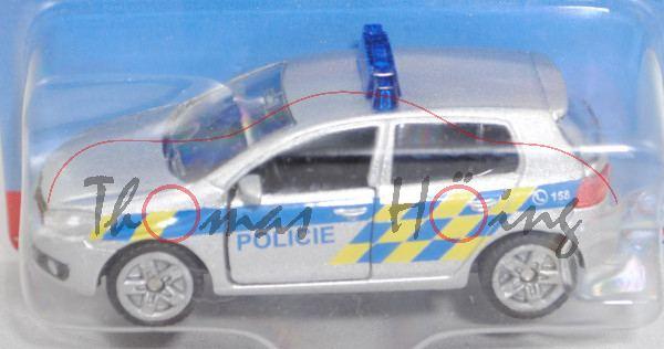 06101 CZ VW Golf VI 2.0 TDI (Typ 1K, Modell 2008-2012) Patrol Car, silber, POLICIE, P29e (Limited)