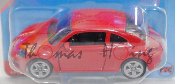 00000 VW The Beetle 1.2 TSI (Typ 5C, Mod. 11-16), karminrot, Türen zu öffnen, B47 offen silber, P29e