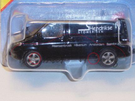 VW T5 Transporter, Modell 2003-2009, schwarz, Hendrikse STOMERIJEN Maarssenbroek Hilversum Amsterdam