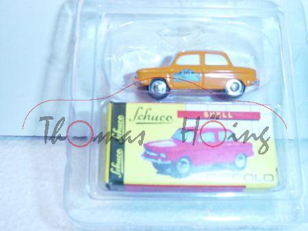 NSU 1000 TTS, orange, Eifel Klassik 2004, Schuco, 1:90, limitiert auf 777 Stück, mb