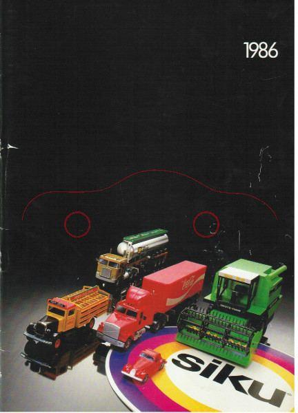 Händlerkatalog 1986, 40 Seiten, DIN-A4, mit Kugelschreiber beschriftet