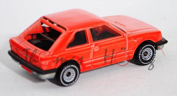 00000 Ford Escort 1.6 GL Dreitürer (3. Generation, Typ Escort \'81, Modell 1980-1986), hell-blutoran