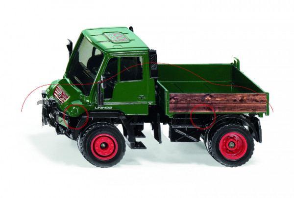 00000 MB Unimog U 300 (Mod. 2001-2006), grün, 100 / YEARS / SIEPER, L17mpP (Limited) (ab 06/21 da)