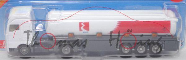 00902 GR MAN TG460A XXL (TGA 18.460 XXL) Sattelzugmaschine (Mod. 00-07) mit Tankauflieger, EKO