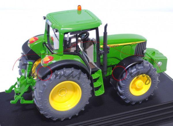 John Deere 6920, smaragdgrün/zinkgelb, mit vielen Drucken und Detailaufwertungen, SIKU FARMER+, 1:32