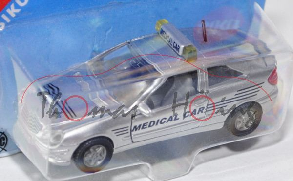 Mercedes-Benz C 32 AMG Coupé (Baureihe CL 203) Medical-Car, Modell 2003-2004, weißaluminiummetallic,