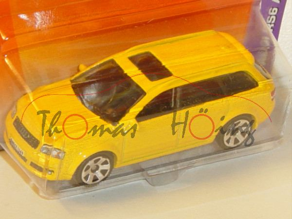 Audi RS6 Avant, Mj. 2004, goldgelb, Matchbox, 1:64, mb