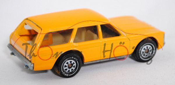 00002 Ford Granada Turnier 3.0 (Mk 1, Typ Granada \'72, Modell 1972-1975), chromgelb, innen cremewei