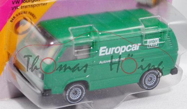 00006 VW Transporter 2,0 Liter (Typ T3, Modell 1979-1982), minzgrün, innen lichtgrau, Lenkrad integr