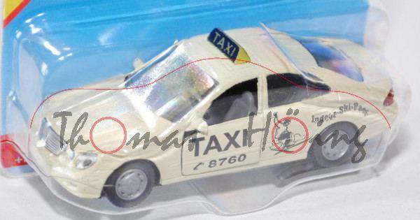 00003 Mercedes-Benz E 500 (Baureihe W 211, 1. Version, Modell 2003-2006) Taxi, hellelfenbein, innen