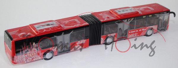 00000 MAN Lion\'s City G Gelenkbus (Typ A23, Modell NG 263), karminrot, Lion\'s City, 1:50, L17mK
