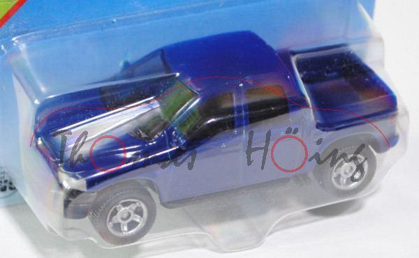 00001 SIKU Mounty (vgl. Dodge RAM 1500 Quad Cap, Modell 2006-2009), kobaltblau, innen schwarz, Lenkr