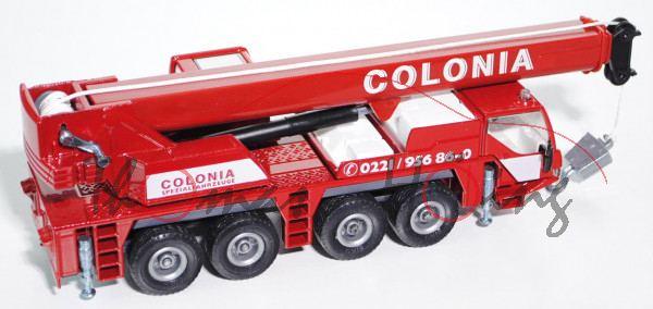 Autokran Liebherr LTM 1060/2, rubinrot/schiefergrau, COLONIA / COLONIA / SPEZIALFAHRZEUGE / C 0221 /