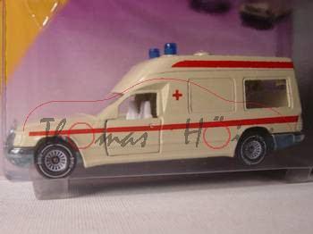 00001 Mercedes-Benz 260 E (Baureihe VF 124 E 26, Baumuster 124.007, Mod. 86-89) Binz-Ambulanz, helle