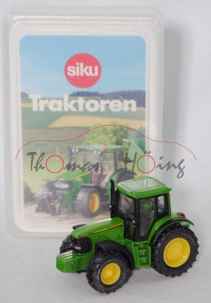 00000 Traktoren Quartett mit John Deere 6920 S (Mod. 2001-2006), grün, SIKU SUPER / TOPP ASS, P28b