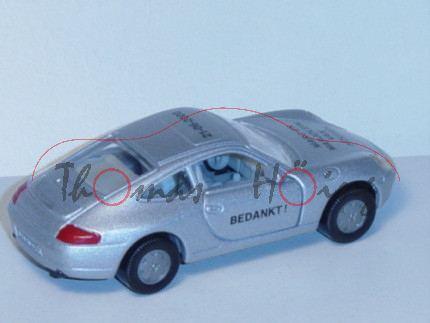 Porsche 911 Carrera (Typ 996), Modell 1997-2001, silbergraumetallic, MARC EN / MARJOLEIN / VAN / HOU