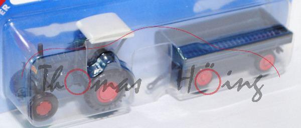 00000 Lanz Verkehrsbulldog HR8 - D9511 (Mod. 36-39) mit klassischem Anhänger (Hersteller: Eisenwerk