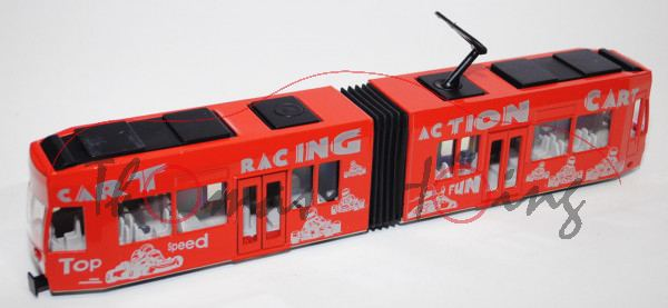 Straßenbahn, verkehrsrot, CART RACING ACTION CART, L15
