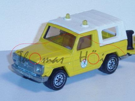 03900 Mercedes 280 GE (Typ W 460) ADAC-Abschleppdienst, Modell 1980-1990, kadmiumgelb, TCS, IE gelb,