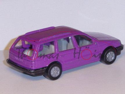 VW Passat Variant (B3, Typ 35i), Modell 1988-1993, signalviolett, Chassis schwarz, Hong, B6, mit Spi