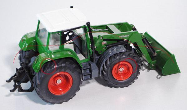 Fendt Traktor mit Schaufellader, grün, L15