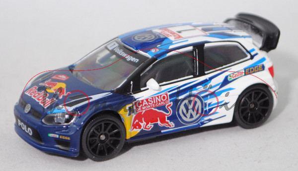 VW Polo R WRC (Mod. 2013-), Rallye Monte Carlo 2015, S. Ogier / J. Ingrassia, Nr. 1, majorette, 1:57