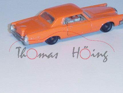 Ford Continental Mark III, orange, IE+Lenkrad weiß, R2, m-