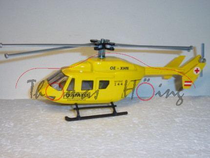 03800 Hubschrauber BK 117, kadmiumgelb, ÖAMTC Christophorus / OE -XHN / NOTRUF / 144, L14n, A