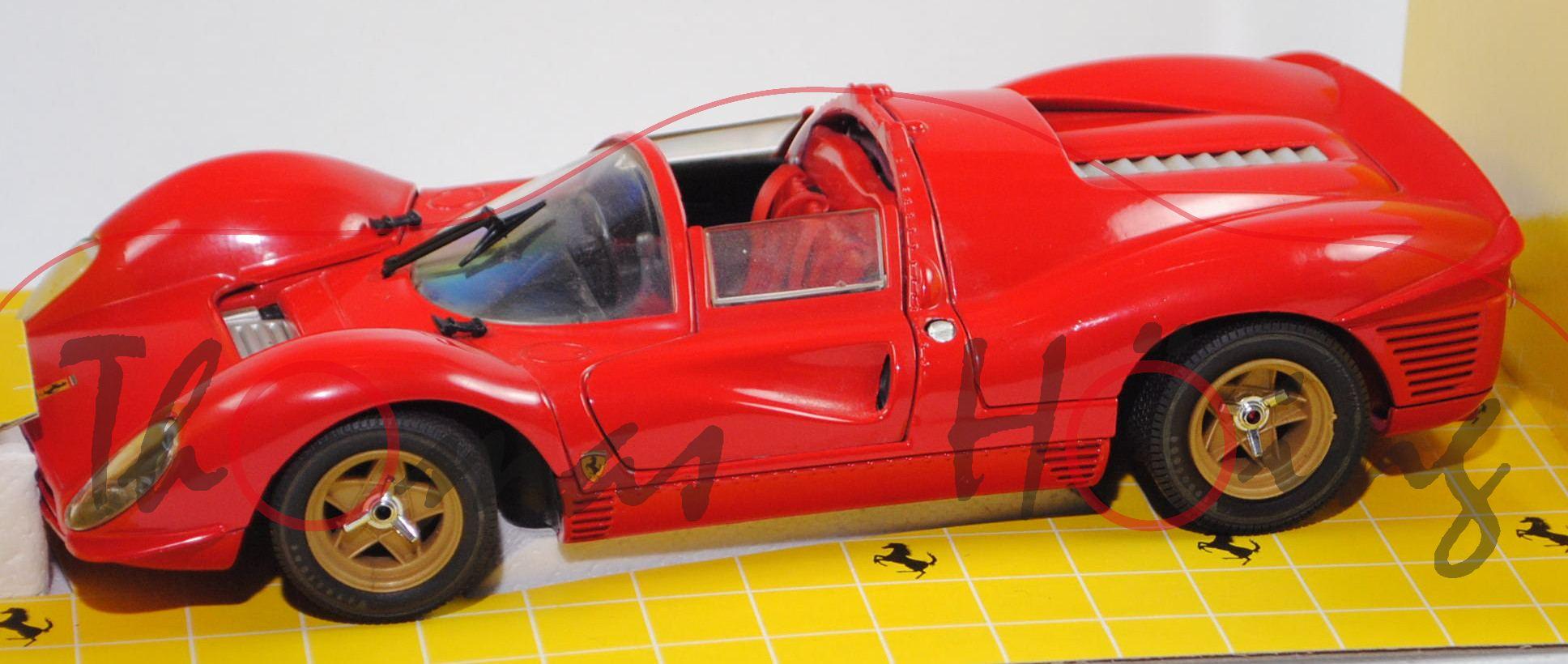 Ferrari 330 P4 Typ Spyder Mod 1967 Rot Revell Jouef Evolution Art Nr Jouef 3005 1 18 Mb Produktarchiv Online Shop Automodelle Höing