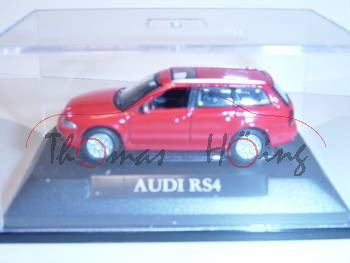 Audi RS4 Avant, Mj 2000, rot, Yat Ming, 1:72, mb