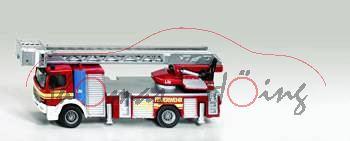 Mercedes Atego Feuerwehr Drehleiter, rot/weiß, P29