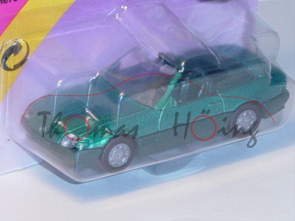 00001 Mercedes-Benz 500 SL (R 129, Baumuster 119.960, Mod. 89-92), türkisgrünmet., innen+Lenkrad kie