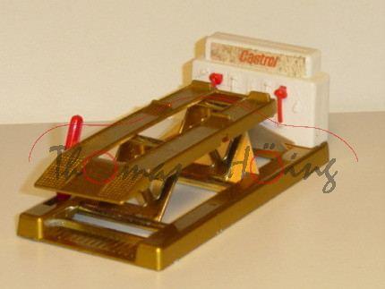 Service Ramp, gold, Castrol, Matchbox King Size, mb