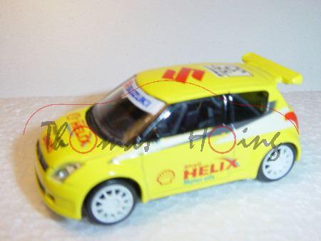 Suzuki Swift Super 1600, gelb, Shell HELIX, Nr. 35, Norev Racing, 1:50, mb