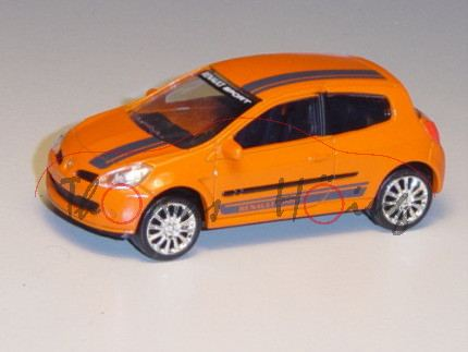 Renault Clio Sport, orange, RENAULT SPORT, 1:50, Norev Racing, mb