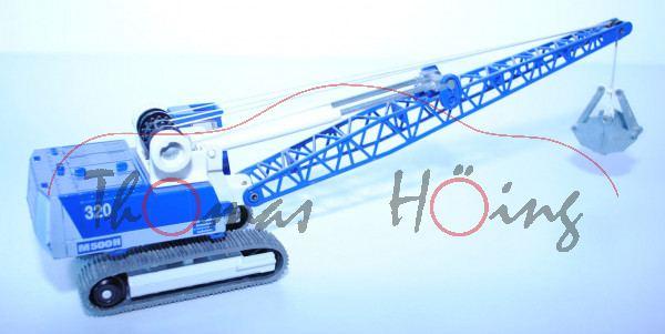 Menck M500H Seilzug-Bagger, hell-ultramarinblau/weiß, 320 M500H / Straßenbau / Tiefbau / Wasserbau