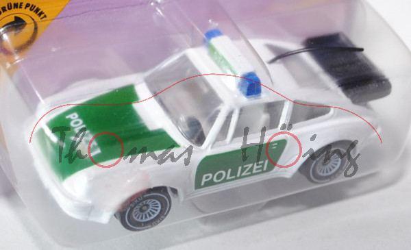Porsche 911 Turbo 3,3 (G-Modell Typ 930, Modell 1978-1989), Autobahn-Streifenwagen, reinweiß, innen