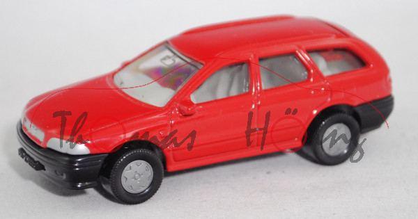 00000 Volvo V 40 2.0 16V (Typ V, Modell 1996-1999), karminrot, innen + Lenkrad lichtgrau, B6, 1:55