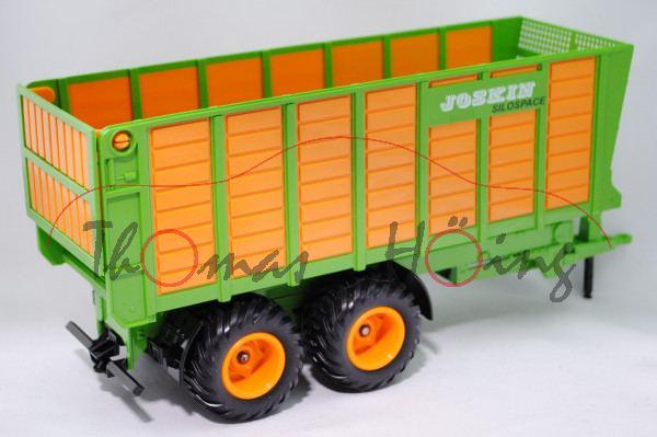 Silagewagen, gelbgrün/orange, JOSKIN / SILOSPACE, L17mpP
