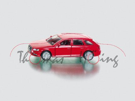 00000 Audi A4 Avant 3.0 TDI quattro (B8, Typ 8K), Modell 2008-2011, karminrot, innen schwarzgrau, Le