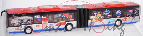 00000 Timeline MAN Lion's City G Gelenkbus 100 Jahre Sieper, SIKU, L17mpK (Limited Edition)