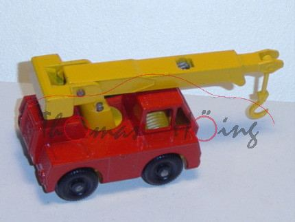Iron Fairy Crane, verkehrsrot/chromgelb, Matchbox Series