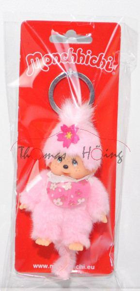 Kirschblüten-Mädchen10 cmMonchhichiSekiguchiSchlüssel-Anhänger
