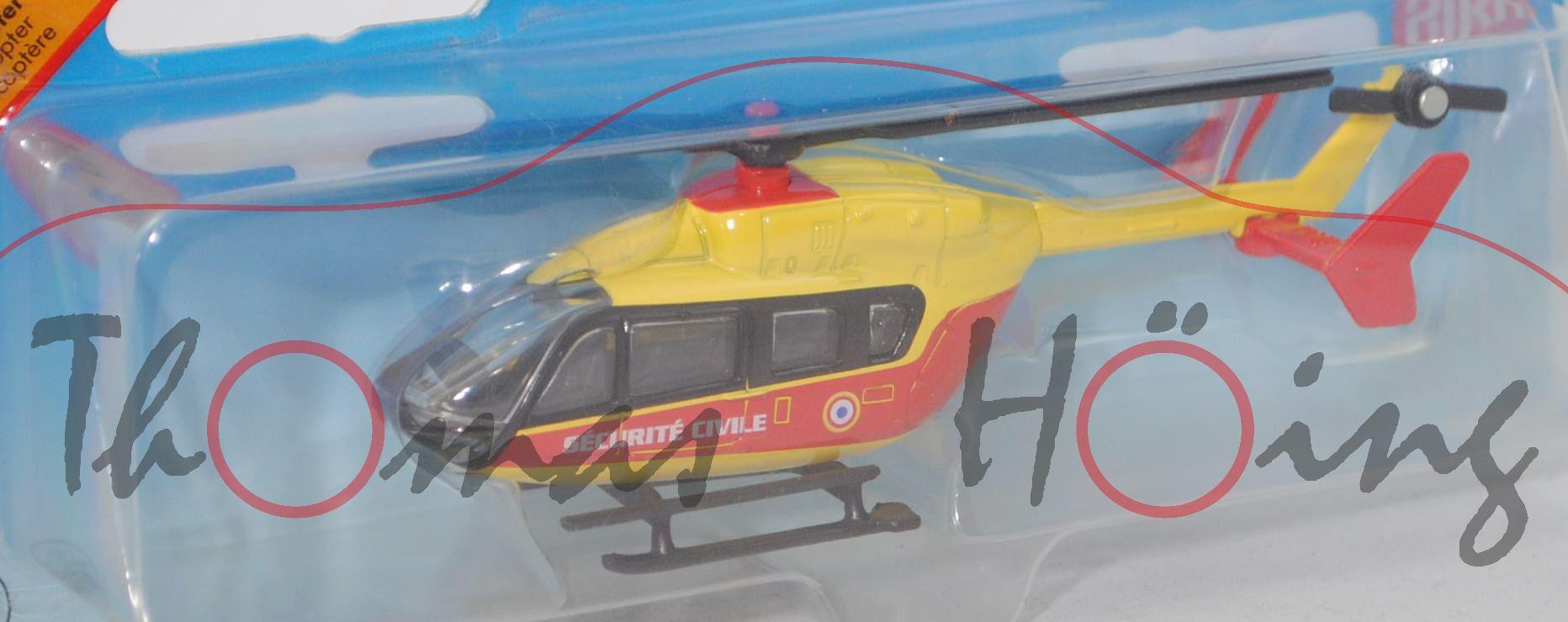 Siku Super 1//87 1647 helicóptero-nuevo embalaje original