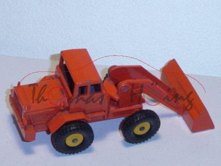 Hatra Tractor Shovel, verkehrsorange, Matchbox Series