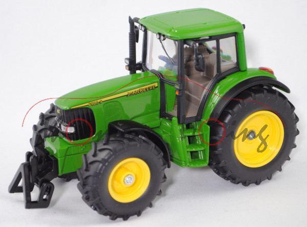 99900 EU John Deere 6920 S Premium (Mod. 01-03), smaragdgrün, SIKU FARMER 1:32, L17mpK (Limited)
