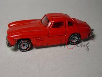 Mercedes-Benz 300 SL (Baureihe W 198), Modell 1954-1957, verkehrsrot, innen rot, B4