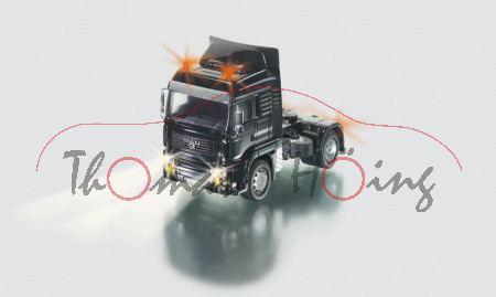 MAN TGA 18.430 Zugmaschine mit Fernsteuermodul, schwarz, SIKU Control Funk-Technologie (Radio Contro