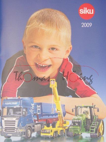 Siku-Katalog 2009, DIN-A4