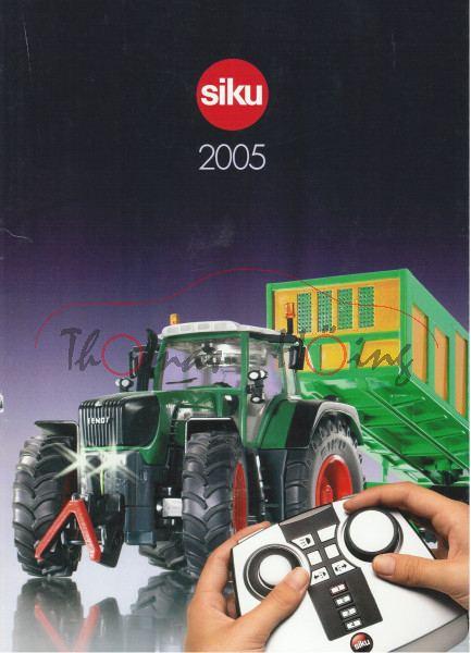 Siku-Katalog 2005, DIN-A4